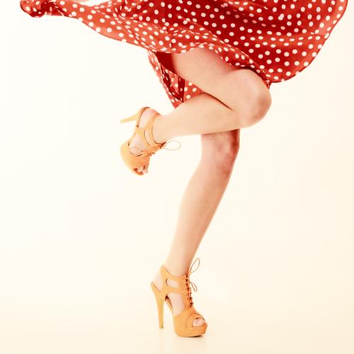 красивые здоровые ноги