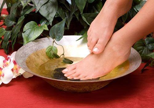 уксусные ванночки против грибка ногтей
