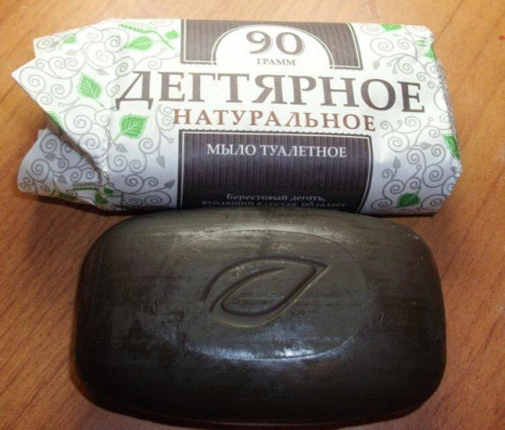 натуральное дегтярное мыло против грибка ногтей